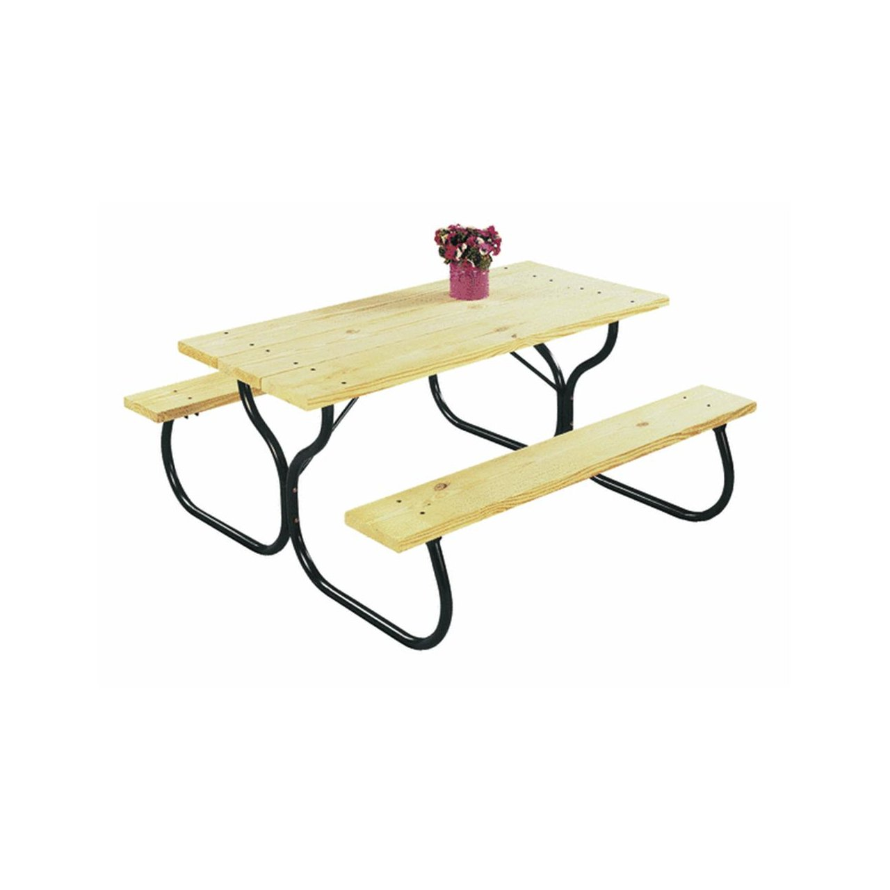 Amazon.com: Fiesta Charm Picnic Table Frame   Frame Only: Patio, Lawn U0026  Garden