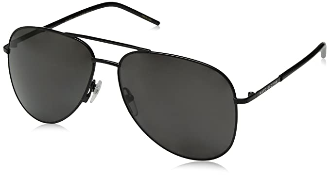 b81861a9a9eb Image Unavailable. Image not available for. Color: Marc Jacobs Marc60s  Polarized Aviator Sunglasses ...