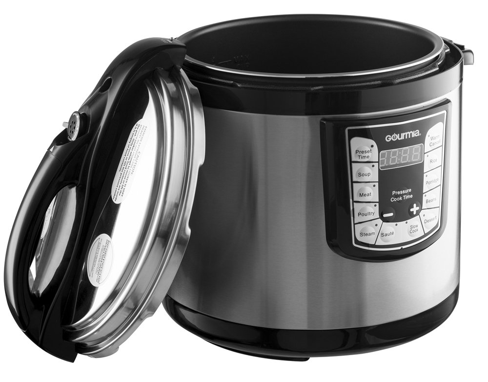 Gourmia 12Qt Electric Multifunction Pressure Cooker