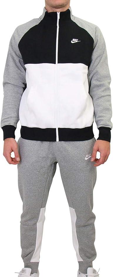 NIKE M NSW CE TRK Suit FLC Chándal, Hombre: Amazon.es ...