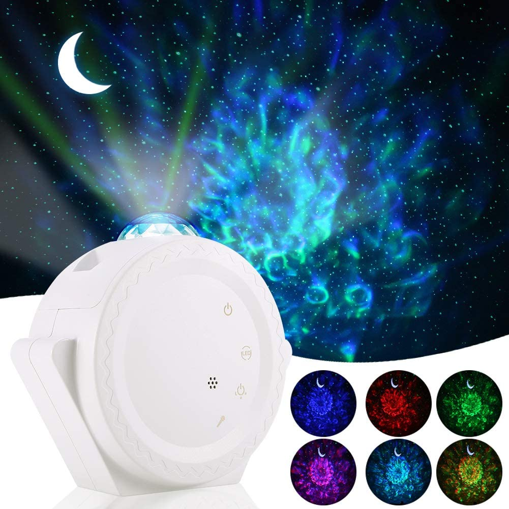 ALOVECO Star Projector, 3-in-1 Night Light Projector with Moon ...