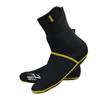 Micnaron Premium Hi Top Neoprene Water Socks