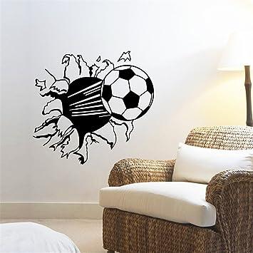 ufengke Calcio 3D Decorazione Creativa Personalizzata Adesivi ...