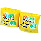 "Intex ""Step 3 Roll Up"" School Pool Arm Bands (Yellow)"