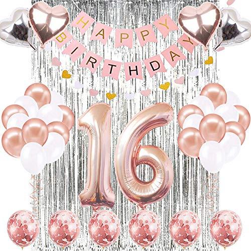 JOTOM - Decoración de cumpleaños para niña, niño ...