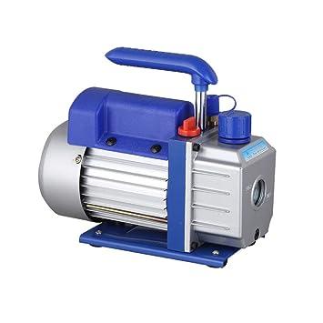 OUKANING - Bomba de vacío Profesional 2,5 CFM 1/4HP Aire Acondicionado refrigeración bajo Ruido: Amazon.es: Coche y moto
