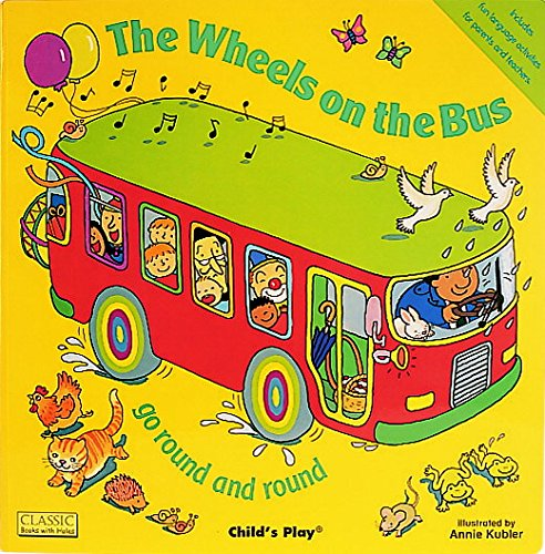 (Childcraft The Wheels on the Bus, 1 Book and 15 Pieces)