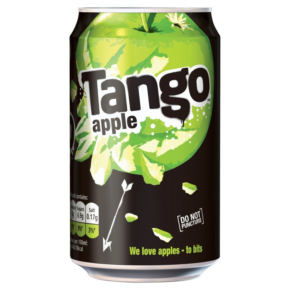 ( 24 Pack ) Tango Apple Cans 330ml - 330ml