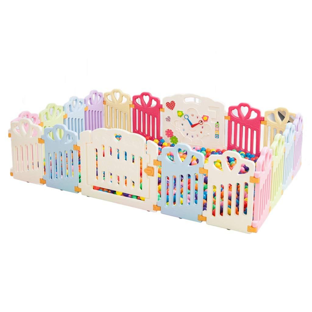 Zhao Kind-Spiel-Zaun, Säuglingskrawl, Das Lernt, Zaun-Baby-Sicherheits-Schutzzaun-Innenspielzeug-Speicher-Haus 40-80CM zu Gehen