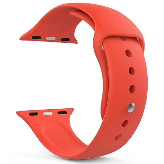 163 opinioni per MoKo Cinturino per Apple Watch 38mm, Morbido Braccialetto di Ricambio in