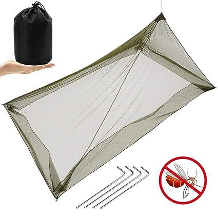 Lit Simple 1 PersonneCompacte Moustiquaire Maikehigh Pour Camping wkZXPiOuTl
