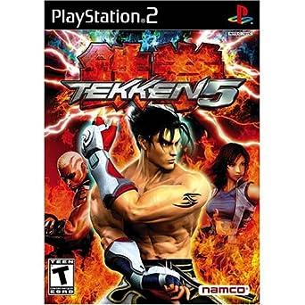 Amazon Com Tekken 5 Playstation 2 Artist Not Provided Video Games