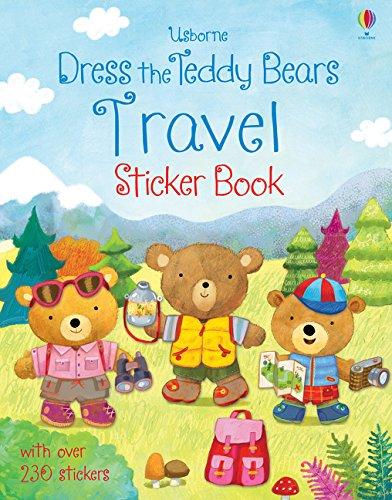 (Dress the Teddy Bears Travel Sticker Book)