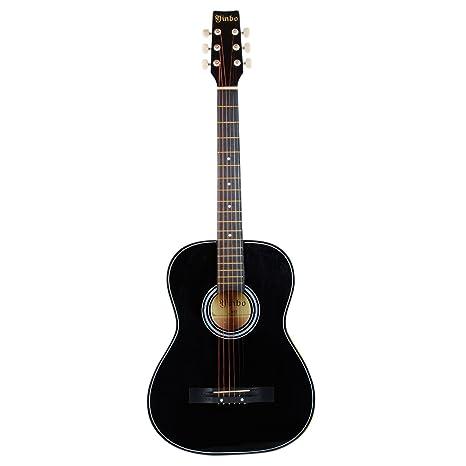 Guitarra Acústica Tamaño Cadete 3/4, para iniciar a niños y jóvenes principiantes,