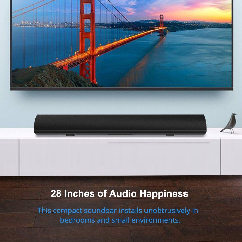 Amazon.com: Soundbar, MEGACRA Sound Bar Surround Sound System 28 ...