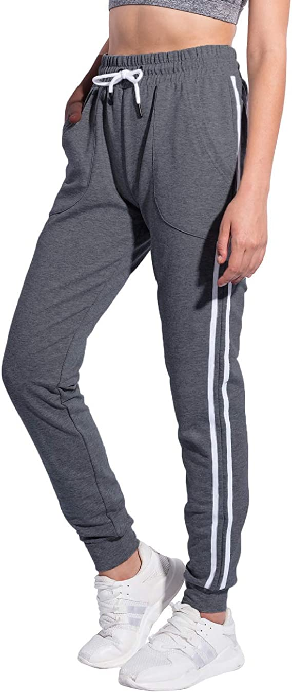 Boys Cotton Jogger Sweatpants American Football Player Adjustable Waist Running Pants with Pocket