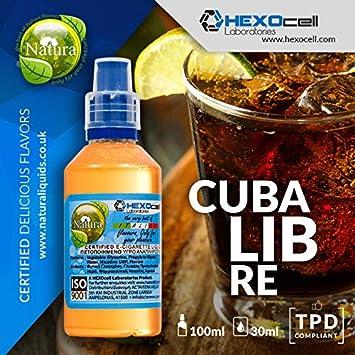 E LIQUID PARA VAPEAR - 30ml Cuba Libre (Ron, Coca Cola, Jugo De ...