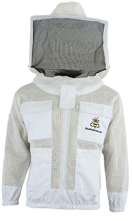 Traje de abeja 3x Capas Seguridad - Unisex Malla de tela ...