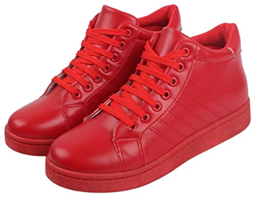 IRSOE Red Causal Shoes for Women and