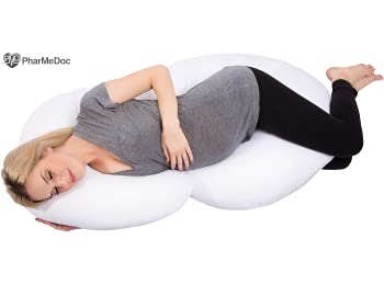 PharMeDoc Total Body Pillow Maternity Pillow