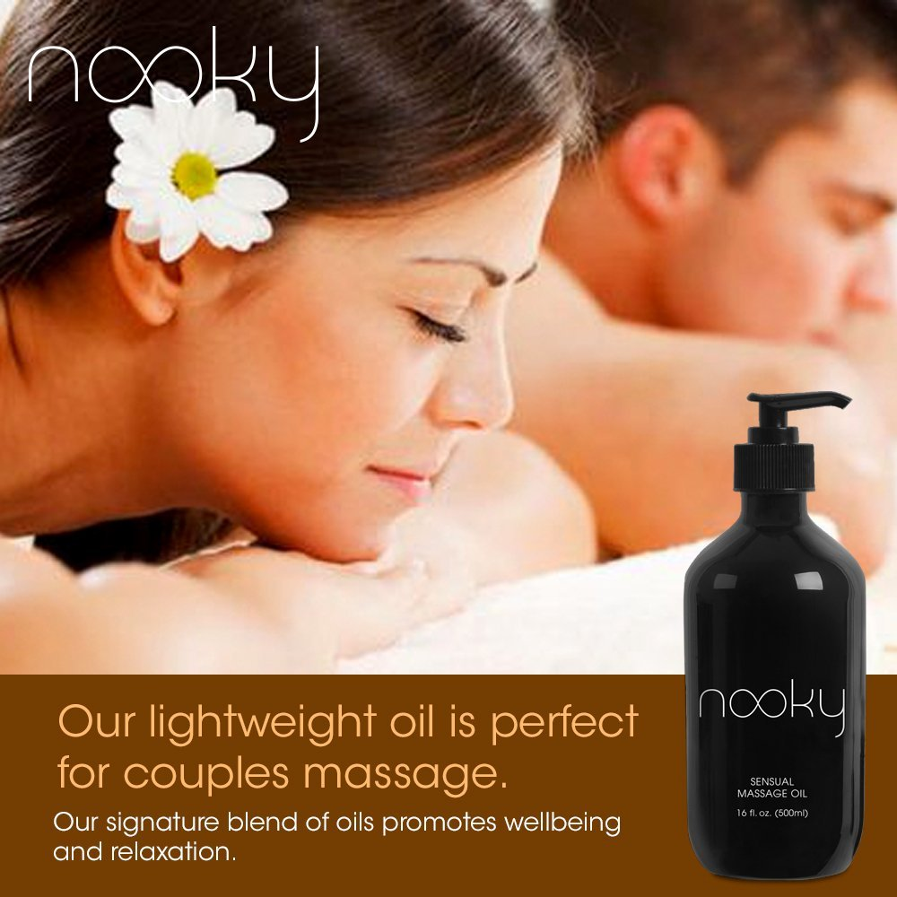 amazon com nooky massage oil with 100 premium natural