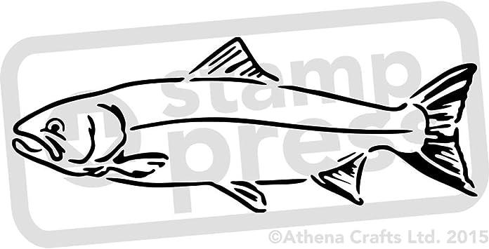 Fish Template Fisch Vorlage Malvorlage Fisch Fische Basteln 7