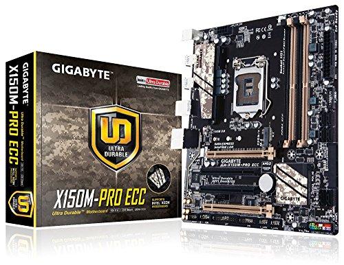 Gigabyte Intel 1151 Socket Xeon E3-1200 v5 Micro ATX DDR4 LGA 1151 Motherboard (GA-X150M-PRO ()
