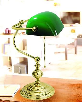Lampada da scrivania Vesper verde