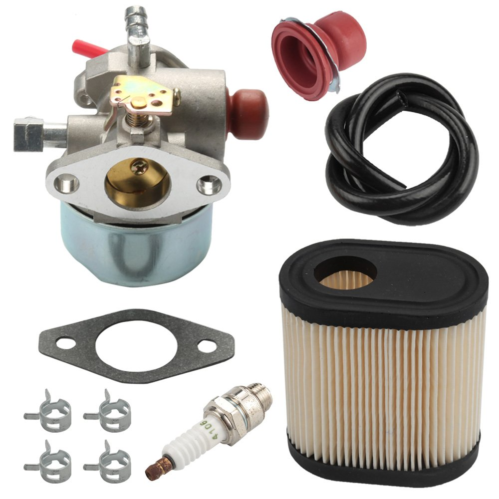 Harbot Carburetor with Air Filter Tune Up Kit for Toro 20016 20017 20018 20012 20070 20071 20072 20073 20074 20075 20076 20094 20096 20001 20003 20005 20007 22 inch Recycler Walk Behind Lawn Mower