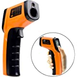 COWEEN Infrared Thermometer Contactless Digital Laser IR Temperature Gun -58 ℉ -716 ℉ (-50 ℃ -380 ℃) Measuring Range Instant Read Temperature Detector Tester Devices