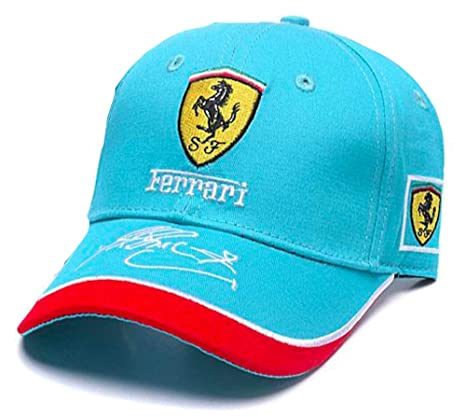 Formula 1 Ferrari Racing Team Cap Teal