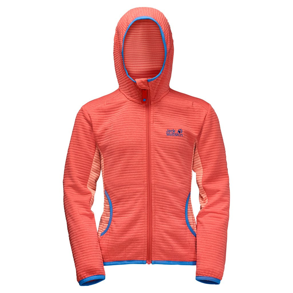 Corail sexy Taille 104 (3-4 Years Old) US Jack Wolfskin Tongari Filles