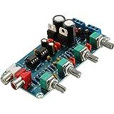 MagiDeal Ne5532 Amplificador Operacional Amplificador De Alta Fidelidad Tono De Volumen Eq Preamplificador Tablero De Control