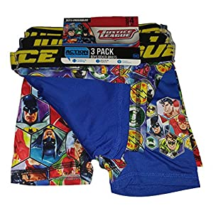 DC Comics Justice League Action Underwear 3 Pack Boxer Briefs