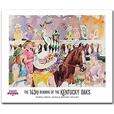 2017 Official Kentucky Oaks Poster