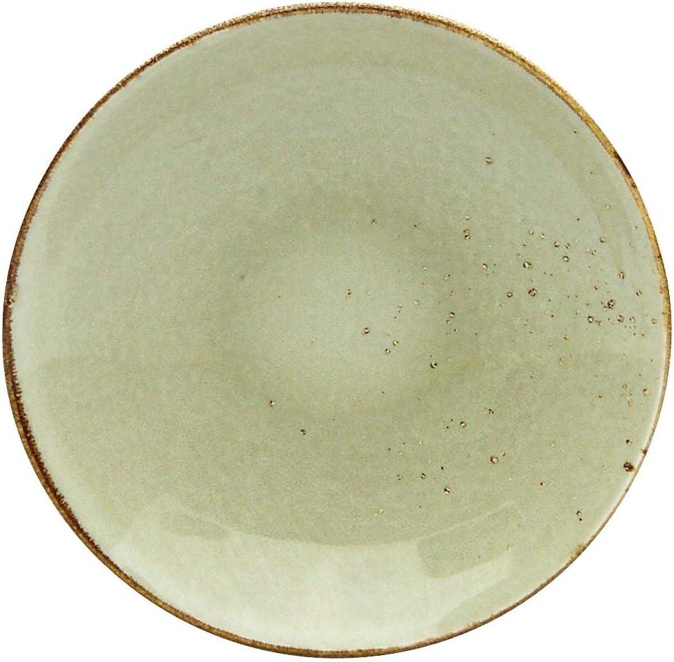 Creatable ER Suppenteller Earth 22056 Nature Collection Lot de 6 Assiettes Creuses Gr/ès 22 cm Marron