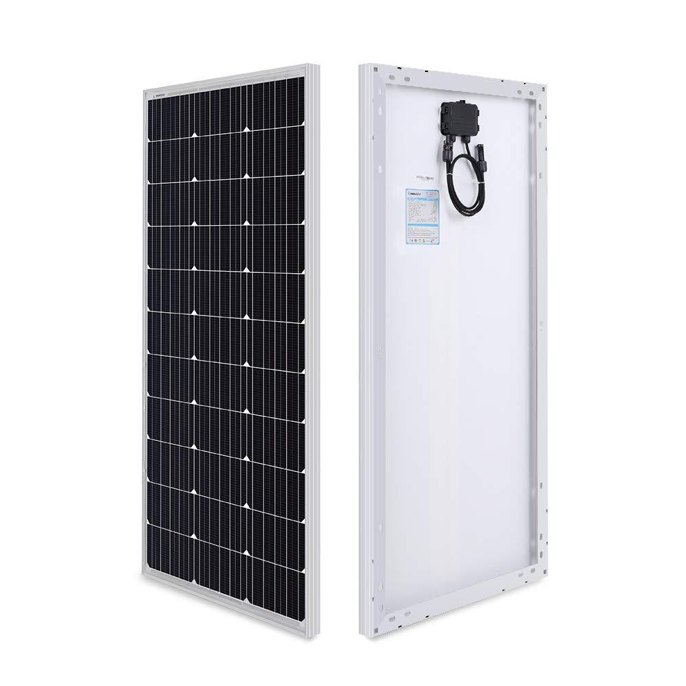 Renogy 100 Watt 12 Volt Monocrystalline Solar Panel (Compact Design) by Renogy