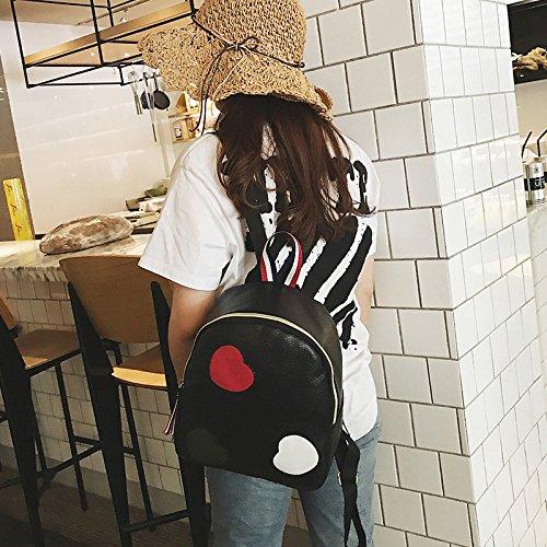 Die neue Mode Handtaschen Farbe einfach waschen kleiner Rucksack travel Schultertasche