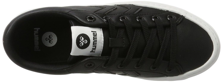 Hummel Deuce Court (schwarz) Tonal Unisex-Erwachsene Niedrig-Top Schwarz (schwarz) Court 3df53a