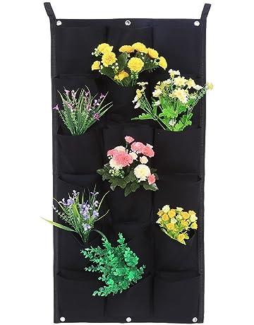 Jardinera vertical para plantas y semilleros con 7/12/16/18compartimentos