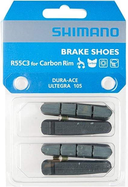 2 Packs Shimano R55C3 Road Bike Brake Pads fits Ultegra 105 /& Dura-Ace BR-7900