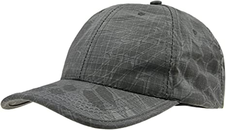 Gorra con visera grande, ajustable, color negro, tamaño talla única: Amazon.es: Deportes y aire libre