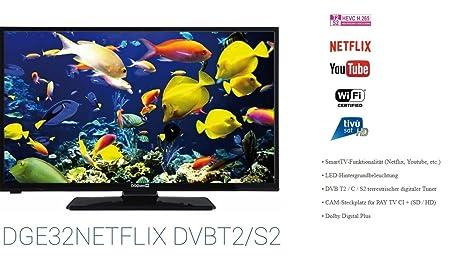 DIGIQUEST DGE32NE Tflix 32 LED TV SMART TV WIFI: Amazon co uk