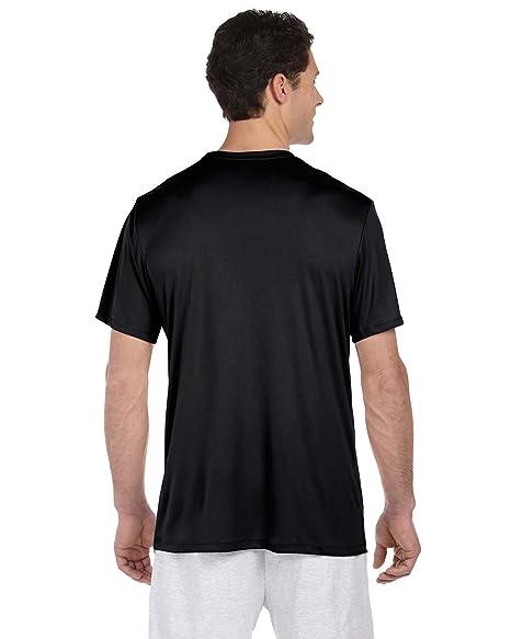 e351b2ae By Hanes Mens Cool Dri With FreshIQ Performance T-Shirt - Black - 3XL -