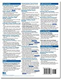 QuickBooks Pro 2016 Quick Reference Training Card - Laminated Tutorial Guide Cheat Sheet