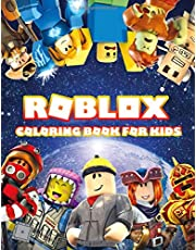 ROBLOX Coloring Book For Kids: ROBLOX. Exclusive Work - 33 illustrations Great Coloring Book for Adults, Teenagers, Tweens, Older Kids, Boys, Girls, Toddlers, Kids