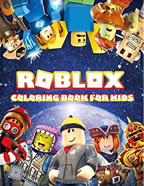 Amazon Com Roblox Coloring Book For Kids Roblox Exclusive Work