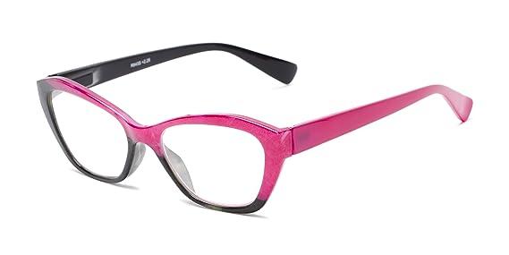 Amazon.com: Gafas de lectura para mujer con diseño de ojo de ...