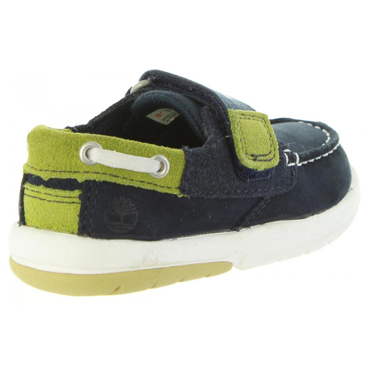Timberland Unisex Babies/' Toddle Tracks Loafers Navy Blue
