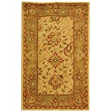 Cheap Safavieh Antiquities Collection AT21F Handmade Traditional Oriental Ivory Wool Area Rug (4′ x 6′)